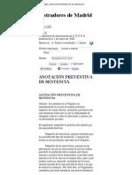 RESOLUCIONES-ANOTACIÓN PREVENTIVA DE SENTENCIA