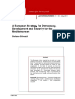 A European Strategy for Democracy, Development and Security for the Mediterranean