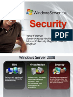 Windows Server 2008 Security