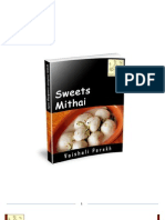 ebook for receipes of  sweets