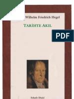 Hegel - Tarihte Akıl