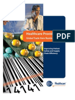 Healthcare Provider Tool Kit Global Trade Item Number(GTIN)