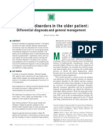 CCJM Movement Disorders in the Older Patient