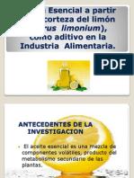 ESENCIA DE LIMON