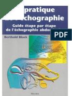 La Pratique de l'Echographie