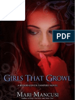 Serie Blood Coven 03 Girl That Growl