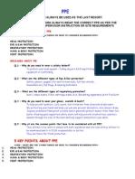 PPE - Presentation