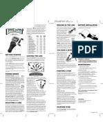 Manual Instrucciones Juego Pesca