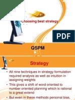 QSPM Matrix (DELL)