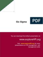 Six Sigma General