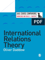 International Relations Theory By Oliver Daddow