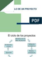 Ciclo de un proyecto