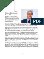 Azim Premji Profile