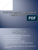 Credit Management Operations 2003.ppt