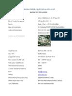Mandatory Disclosure 2012