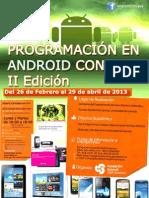 Programacion de Android con Java II edicion. Cartel