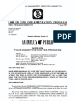 19970507 IMEC Program Order 375, An LRH ED 339R Implementati
