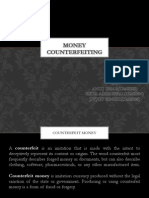 Money counterfeiting