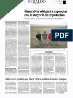 El embalse de Almudévar obligará a expropiar más de 450 fincas, la mayoría en explotación