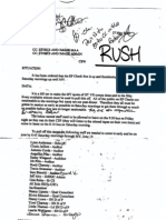 FSO CSW Re Hill Ten and Changing Staff Schedules (2005)