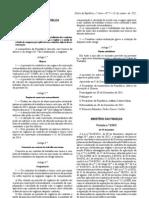 Lei 3 2012 de 10 de Janeiro