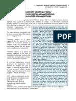 Introduction to NGO-Managment