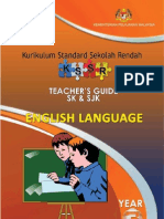 Teacher's Guide English Year 3 SK & SJK