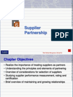 TQM supplier selection