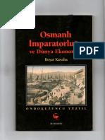 Osmanlı İmparatorluğu ve Dünya Ekonomisi