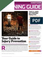 Runner´s World Training Guide - Injury Prevention
