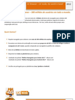 Letter of Proposal UC Browser - Portuguese Version