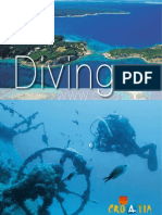 Croatia diving brochure 2009
