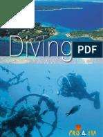 Croatia diving brochure 2009