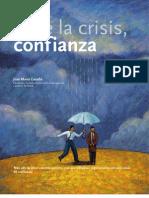 Ante la crisis confianza