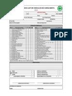 check List de veículos de carga mista