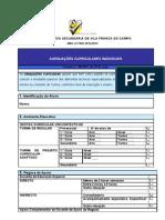 Formulário de Adequações Curriculares Individuais (ACI)