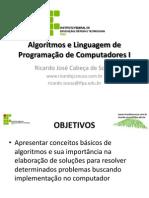 Algoritmos Linguagem Programacao Computadores I