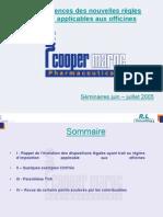 COMPTA PHARMACIE Consequence Des Nouvelles Regles Fiscales