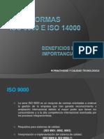 Normas ISO 9000 y 14000