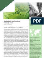 Shelterbelts for Farmland