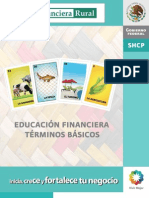 Terminos financieros Educacion financiera