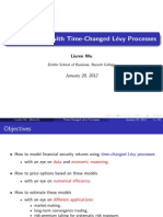 Option Pricing with Time-Changed Levy Processes