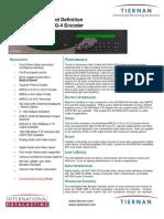 Tiernan AVC4000SD manual