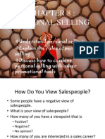 Chap 8 Personal Selling