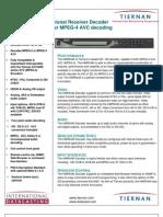 Tiernan HMR5440 data sheet