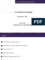 The quantmod package