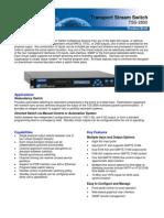 Tiernan TSS2800 data sheet