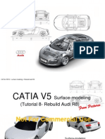 CATIA - Wireframe and Surface Design Exercises | Dialog Box