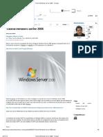 Tutorial Windows Server 2008 - Taringa!