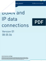 BGAN and IP data connections